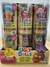 Lot of 6  Ugly Dolls Surprise Disguise Tubes Ox Bat Mermaid Chef Pancake NEW