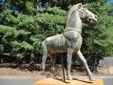 Antique Bronze Horse from olympia  Replica of  Metropolitan  Museum of  Greek