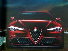 Alfa Romeo Giulia Quadrifoglio V6 Bi-Turbo brochure prospekt catalog