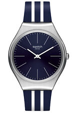 Swatch Wrist Watch skinblueiron syxs106