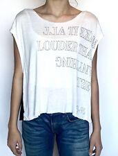 AllSaints Louder Mist Top. Linen Mix.NWT Retails $65 Price $34 Size S All Saints