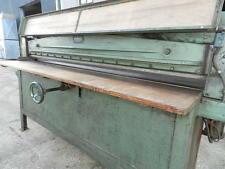Interwood 2m Veneer Guillotine £1200.00 +VAT ****PRICE REDUCTION****