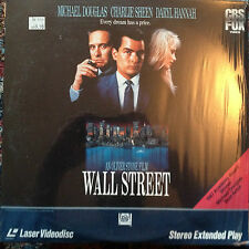 Wall Street Laserdisc Movie Ld