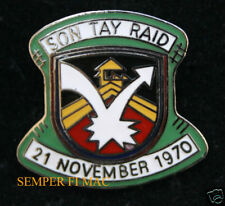 SON TAY RAID VIETNAM US ARMY SPECIAL FORCES AIR FORCE POW MIA HAT PIN KINGPIN