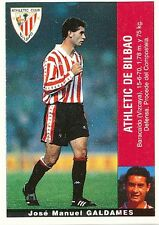 GALDAMES ULTIMOS FICHAJES ATHLETIC BILBAO STICKER CROMO PANINI LIGA 1996 ESPANA
