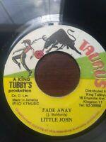 """Little John-Fade Away 7"""" Vinyl Single KILLER KING TUBBY DANCEHALL"""