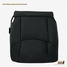 2009 Toyota Avalon  - Driver Bottom Leather Replacement Seat Cover Color Black