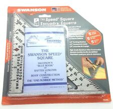 Original Swanson Speed Square (7 Inches, model S0101)