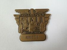 2014 Indianapolis 500 WW634 Bronze Pit Badge Ryan Hunter-Reay Andretti Autosport