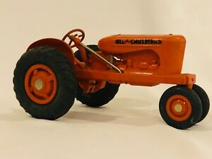 Vintage Product Miniatures Allis Chalmers WD 1/16 Plastic Toy Farm Tractor Nice