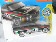 1973 BMW 3.0 CSL Race Car schwarz, 1:64 HW OVP Hot Wheels
