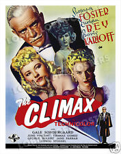THE CLIMAX LOBBY CARD POSTER OS/BEL 1944 BORIS KARLOFF SUSANNA FOSTER