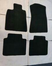 Fit 06-11 Lexus GS300 GS350 Black Nylon Floor Mats Carpet