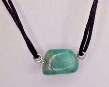 Cristal de esmeralda en plata