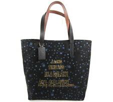 Coach Star Wars Canvas Tote Bag Black NWT $298