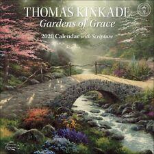 Thomas Kinkade: Gardens of Grace Kalender 2020 quadratisch 30 x 30 cm