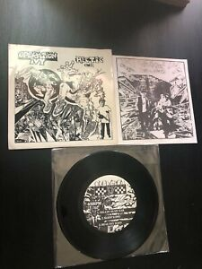 """Operation Ivy """"Hectic E.P."""" Lookout records vinyl 7"""" with zine ska hardcore punk"""