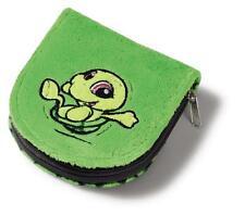 Nici Geldbeutel Schildkröte Plüsch 11x10cm Geldbörse Geldtasche Geschenk 38689