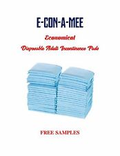 "300ct 17x24"" E-Con-A-MEE Incontinence Pads Mattress/Furniture Protectors"