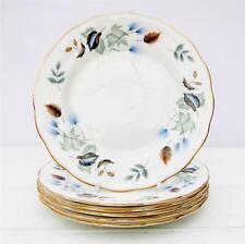 Vintage Colclough Linden Bone China Set 6 Tea Plates