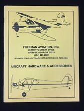 VINTAGE FREEMAN AVIATION AIRCRAFT HARDWARE & ACCESSORIES CATALOG #2