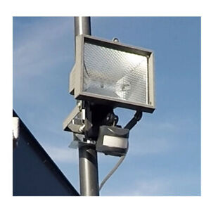 Flood Light CCTV Bracket Designed For Poles 40-50mm Metal Mount