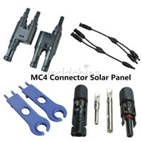 1Pair 2PCS MC4 Y/T Type Male Female Cable Connector Wrench Solar Panel Adapter
