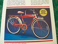 Western Flyer 1990 Special Edition Classic Cruiser Replica Unbuild Bike NIB