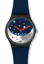 "SWATCH SPECIAL "" MONN NIGHT or SI DU YE "" SUOZ236 LIMITED EDITION"
