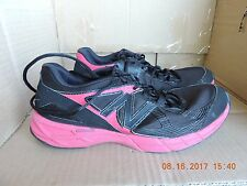 New Balance Cardio Comfort WX877BP Black & Pink Textile Training Shoes size 9.5