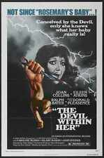 Devil Within Her Poster 01 A3 Box Canvas Print