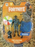 Fortnite Early Game Survival Kit 9 Pc Figure Pack The Visitor Intention Unknown