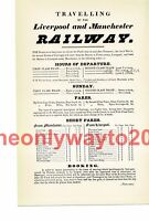 Liverpool & Manchester Railway (1), Book Illustration (Print), 1934
