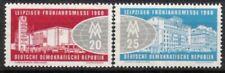 DDR Nr.750/51 ** Frühjahrsmesse 1960, postfrisch