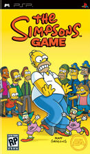 THE SIMPSONS GAME ( JEUX SONY PSP ) COMPLET / CIB