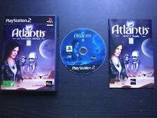ATLANTIS III 3 Le Nouveau Monde : JEU PLAYSTATION 2 PS2 (Cryo COMPLET suivi)
