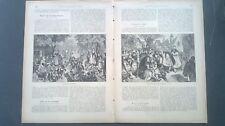 1888 cs Chronik ...Ansicht 501 Spreewald bei Cottbus Kalau Lübben
