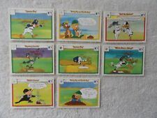 Looney Tunes Comic Ball 1990 Upper Deck 8 Card Lot  PACK FRESH MINT CARDS !!!
