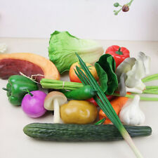 Lifelike Decorative Plastic Artificial Fake Fruit Vegetables Home House Decor