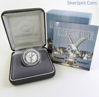 2003 KOREAN WAR ANNIVERSARY Silver Proof Coin