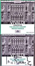 Trevor PINNOCK Signed VIVALDI L'estro armonico 5CD Alla Rustica Flute Oboe Conce