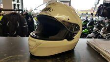 SHOEI QWEST PLAIN WHITE MOTORCYCLE HELMET