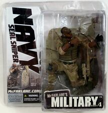 Mcfarlane Military Series 4 NAVY SEAL SNIPER Action Figure African American