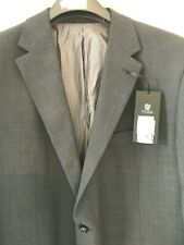 Mens Skopes Wool Plus Lycra Grey Suit Blazer Jacket, Size 48 New, Rrp £140.00 BN