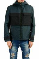 Versace Collection Men's Full Zip Hooded Lined Windbreaker Jacket US S IT 48