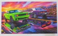 New listing Dodge Challenger Hellcat Art 2015 2016 2017 2018 392 Hemi 1971 R/T 440 E Body