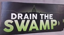 WHOLESALE LOT OF 20 DRAIN THE SWAMP STICKERS TRUMP PRESIDENT MONEY 2020 GOP USA