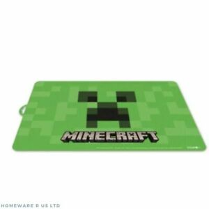 CHILDREN BOYS KID TODDLER DINING TABLE DINNER LUNCH PLACEMAT STOR LIKE MINECRAFT