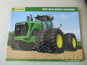 John Deere 9230 9330 9430 9530 9630 9030 series tractor brochure 32 pages