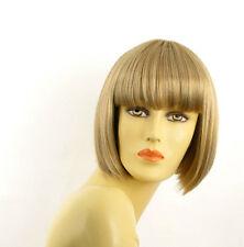 Parrucca donna corta bindo chiaro mechato biondo molto chiaro  ELISA 15T613